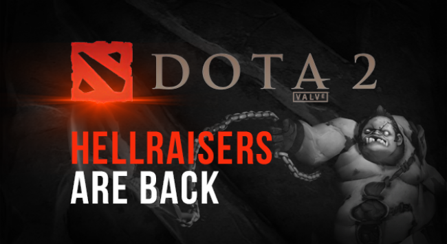 HellRaisers announce their return to Dota 2